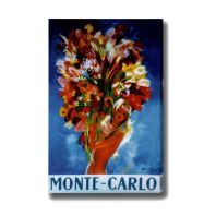 Wood On Canvas French Travel Wall Art